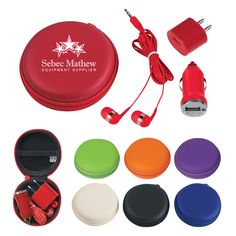 3 In 1 Travel Kit is a functional giveaway to add your logo to for tradeshows. #swag #tradeshow