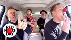 Carpool Karaoke with Take That | Red Nose Day 2017 - YouTube