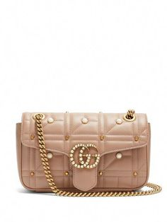 967d1cd6a GUCCI Gg Marmont Quilted-Leather Shoulder Bag.  gucci  bags  shoulder bags