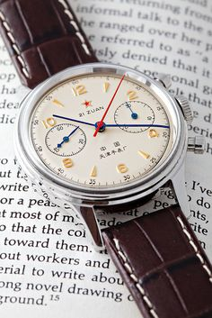 Watches:  Sea-gull 1963 Air Force Chronograph Re-issue by Malenkov in Exile, via Flickr
