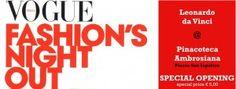 In occasione della Vogue Fashion's Night Out, la Pinacoteca Ambrosiana aprirà al pubblico dalle 19.00 alle 23.00 la Sala Federiciana, l'antica e suggestiva  Sala di Lettura della Biblioteca, oggi sede espositiva privilegiata del Codice Atlantico di Leonardo.   #milano #mondomilanoit