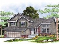 Floor Plans - 2 Story Split Level Home with 3 Bedrooms, 2 Bathrooms and total Square Feet Luz Natural, Tri Level House, Split Level Floor Plans, Split Level Exterior, Home Renovation Costs, Farmhouse Renovation, House Renovations, Kitchen Renovations, Farmhouse Decor
