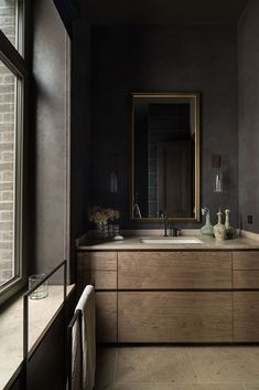 Country house in Zhukovka – Fifth Avenue Interior Design Institute, Tiny Bathrooms, Bathroom Windows, Interior Concept, Interior Design Magazine, Beautiful Interiors, Bathroom Accessories, Master Bathroom, Interior Inspiration