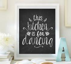 Instant Download Kitchen art This kitchen is by LittleEmmasFlowers