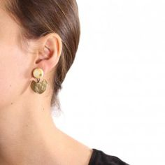 Galway clip-on earrings