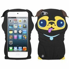 pictures+of+ipod+touch+5+amazon+dog+cases | Silicone Skin GEL Cover Case Apple Ipod Touch 5 5th Generation Black ...
