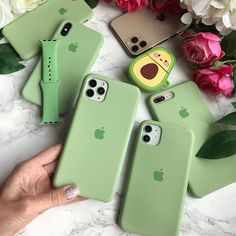 iPhone Silicone Case (Green)