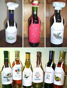 ZONA DE MANUALIDADES: Ideas para vestir tu botellas