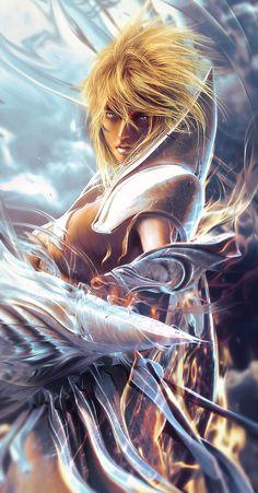 Fan-Art of Espada #3, Tier Harribel (ティア・ハリベル) Resurrección Form