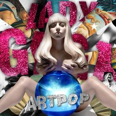 """ARTPOP is here! """"Lady Gaga is the hardest-working artist in pop music because she makes absolute certain that every inch of her craft evolves and innovates."""" - Billboard"""