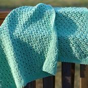 Dewdrop Baby Blanket - via @Craftsy