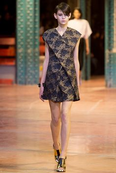Kenzo Fall 2013 Ready-to-Wear Fashion Show - Amra Cerkezovic (Women)