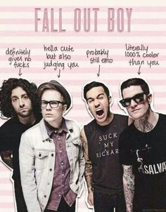 Definitely Fall Out Boy