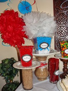 Strong Armor: Baptism Party Decorations