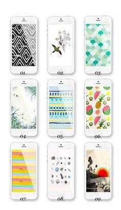 9 free iphone wallpaper