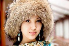 Kyrgyz girls.