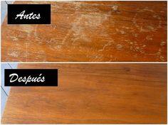 Una guía fácil y con ingredientes 100% caseros para arreglar tus muebles de madera.