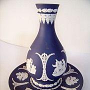 Beautiful Wedgwood Jasperware Vase and Tray