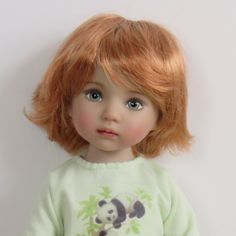 Roxie wig in special reddish blond from Dotti - Photos - Our Little Darlings