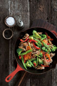 Flash-in-the-pan sweet-and-sour pork. Photo / Annabel Langbein Media