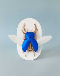 Build-Your-Own Beetle Kits Celebrate Insects Through Charming 3D Paper Craft