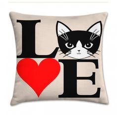 Almofada love cat