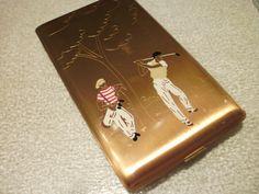 Rare Vintage Elgin American Cigarette Holder. Smoke Art, Up In Smoke, Vintage Cigarette Case, Cigarette Holder, Smoking Accessories, American Made, Tins, Jewelry Box, Cases