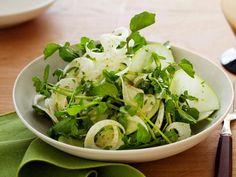 salade croquante de fenouil et pomme verte. 茴香と青りんごのぱりぱりサラダ.  crunchy fennel and green apple salad.