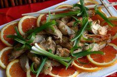 Orange Mango Chicken from Pocket Change Gourmet. Mmmm.  For Chinese New Year.