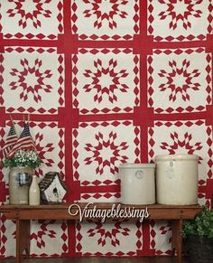 Fill your home with Vintage Americana. Our store is stocked with beautiful antique quilts, come see!