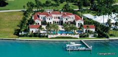 Luxury Waterfront Homes For Sale - Miami Beach, Indian Creek, Bal ...