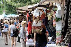 Neuköllner Stoffmarkt am Maybachufer