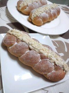 旦那様から満点貰ったコーヒークリームパン by *Anna* [クックパッド] 簡単おいしいみんなのレシピが229万品