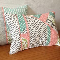 (COUTURE) Des coussins façon patchwork ! – Le blog de Kesi'Art