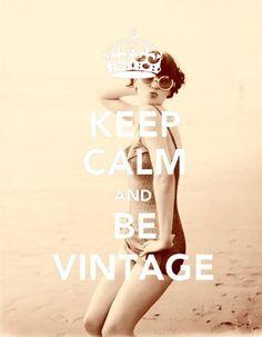 Be vintage