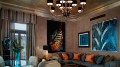 The Donghia Patron Grand Canal Suite, Venice Named after the famed American furniture/fabric  designer Angelo Donghia