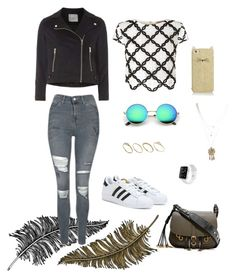 """""""Sin título #28"""" by ana-chicaiza on Polyvore featuring moda, Paperself, Topshop, Lipsy, Prada, adidas, ASOS, Wet Seal, Dorothy Perkins y Kate Spade"""