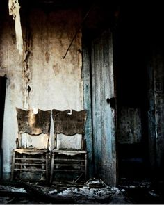 home: A CHAIR IS STILL A CHAIR, EVEN THOUGH THERE'S NO-ONE SITTING THERE .....