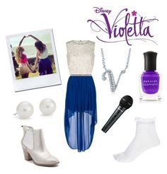 Designer Clothes, Shoes & Bags for Women Violetta Outfits, Violetta Disney, Teenager Outfits, Outfits For Teens, Casual Outfits, Modest Fashion, Girl Fashion, Fashion Outfits, Womens Fashion