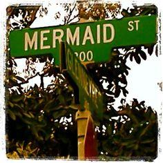mermaid street Laguna beach
