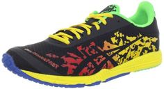 ASICS Mens GELNoosafast Trail Running ShoeFlameBlackYellow12 M US * Continue to the product at the image link.