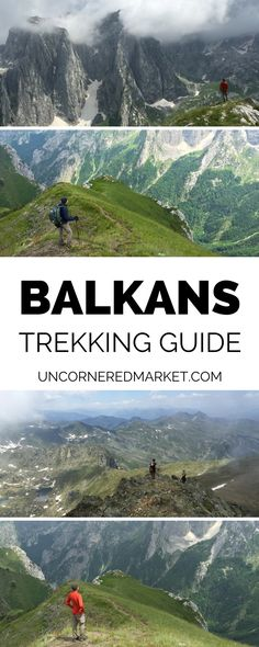 A guide to embarking on the Peaks of the Balkans Trek, a 200 km trek passing through the mountains of Albania, Montenegro and Kosovo. How to prepare, which route to choose, costs to budget for, and more. | Uncornered Market Travel Blog