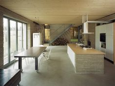 Crumbling Stone Barn Renovated Into Rammed Earth Ihlow House in Germany Ihlow House-Roswag Architekten – Inhabitat - Green Design, Innovation, Architecture, Green Building
