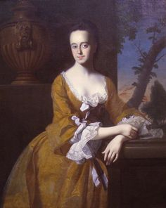 Lucretia Chandler, Mrs. John Murray, 1763, by John Singleton Copley (1738-1815) - Worcester Art Museum     I'm considering starting a 18th century re-enactment. Something like this style would be perfect!
