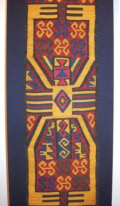 Nazca Textile Peru 6th to 8th. century