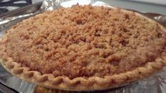 Dutch Apple Pie Recipe - Very good pie, I did put real butter and some sugar in the pie plate before the crust and then added some more butter, sugar and cinnamon to the top of the crust before I filled it. Apple Pie Recipe Easy, Easy Pie Recipes, Apple Pie Recipes, Sweet Recipes, Apple Pies, Baking Recipes, Dutch Apple Pie Recipe Food Network, Bread Recipes, Köstliche Desserts