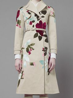 Simple placement print. Valentino has nailed it
