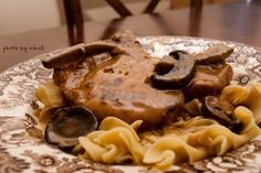 Creamy Slow Cooker Pork Chops over Noodles | Tasty Kitchen: A Happy Recipe Community!