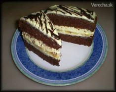 Kakaový rez s vynikajúcim tvarohovým krémom (fotorecept)
