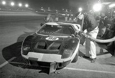 Winning Shelby Ford GT40 Mk. II at Daytona 1966